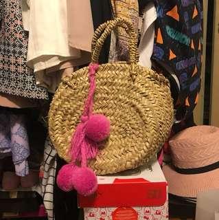 Bohemian Basket Rattan Bag