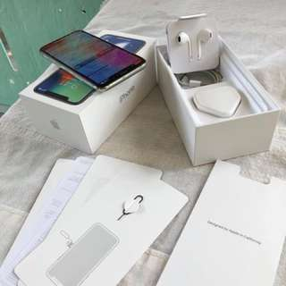 Iphone X White silver