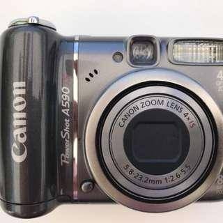 Canon Powershot A590