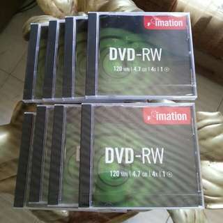 DVD+RW 4.7gb Blank CD Take All