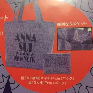 日本雜誌 E-Mook Anna Sui Tote bag 手挽袋