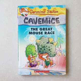 Geronimo Stilton Spacemice Cavemice