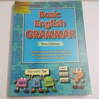 Brand new Basic English Grammar New Edition for lower primary