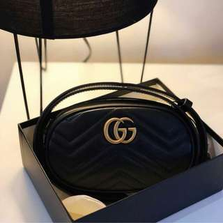 👉NEW - GUCCI Marmont Waistbag # dl