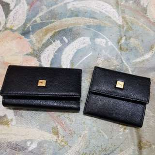 Key holder and coin bag in a set 鎖匙包碎銀包一套