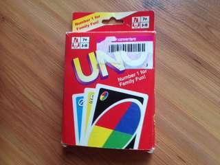 UNO fun card game