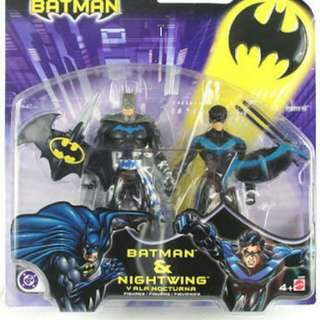 Mattel Batman And Nightwing Two Pack