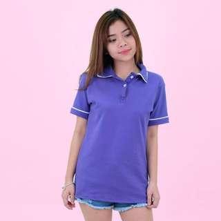 HTP Plain violet polo shirt (OVERRUN)