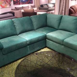 Kredit Leopolis Sofa Corner Green Dp 0%