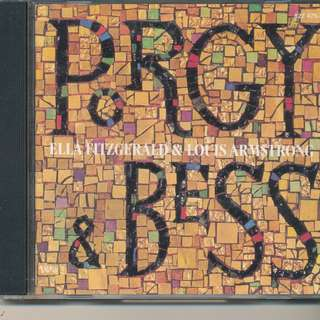 Porgy & Bess - Ella Fitzgerald & Louis Armstrong (AUDIO CD) (Verve 1958, USA) [z2]