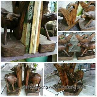 Old Kamagong bookend