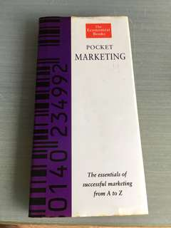 Pocket marketing the essential of a successful marketing from a to Z