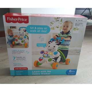 Fisher Price Me Zebra Walker