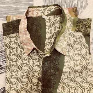 New batik, dijual karna kebesaran