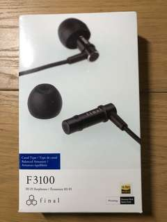 final F3100 HI-FI Earphones