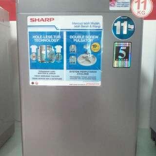 Cicilan mesin cuci tanpa kartu kredit proses cepat 3 menit promo DP 0%