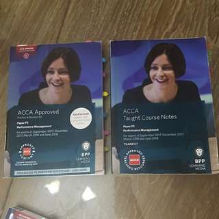 ACCA F5 course notes & revision kit