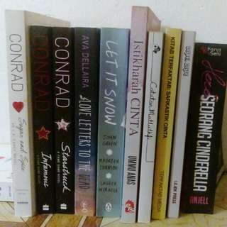 Various Books - Novel Melayu & English Novel Romance Novel