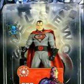 DC Direct Elseworlds Red Son President Superman