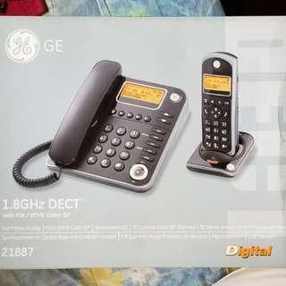 ge 21887未用品~家用子母電話