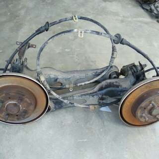 Rear disk break (RH/LH) wira 1.6