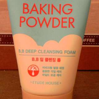 Authentic Baking Powder Cleansing foam