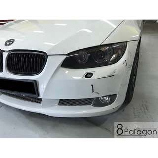 BMW 335i Body Work Damage Repair/ Accident Repair/ 3rd Party Insurance Claim