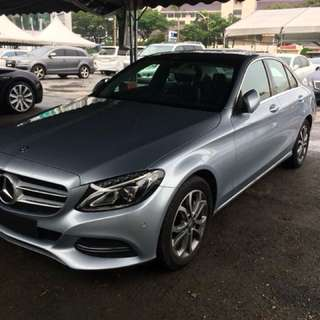 MERCEDES BENZ C200 SPORT PREMIUM 2014 SILVER UNREGISTERED