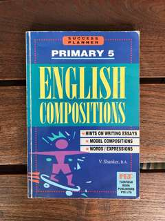 Primary 5 English Composition book
