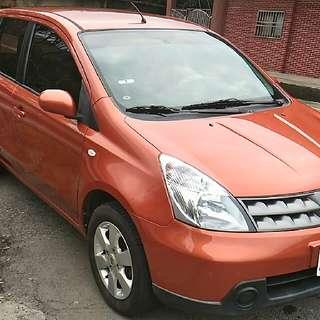 台灣車主自售livina汽車,日產Nissan Livina 1.6汽車。2012年份,看車地點: 台灣新北市三重交流道附近。