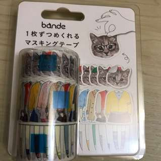 Cats Clothes Changing Stickers 2017 (日本限定)(450 pieces in total)