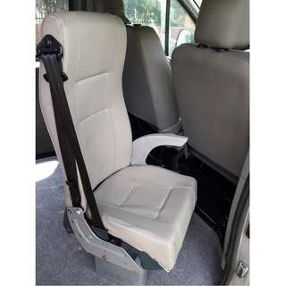 Premium Van Passenger Seat with seatbelt and armrest - selling cheap!