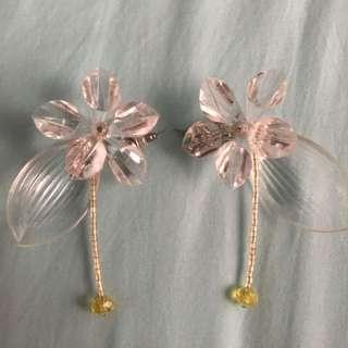 Berrybenka x Tam.illi Series Clear Earrings