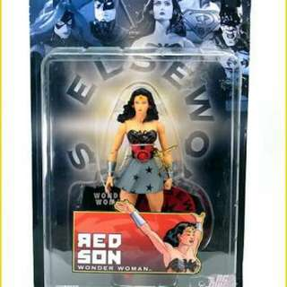 DC Direct Elseworlds Red Son Wonder Woman
