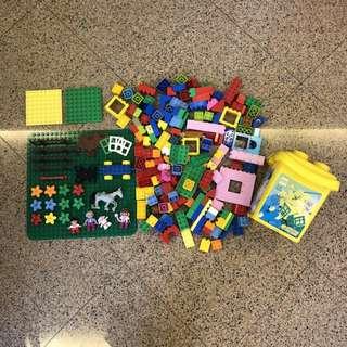 Duplo bricks + boards clearance all original Lego