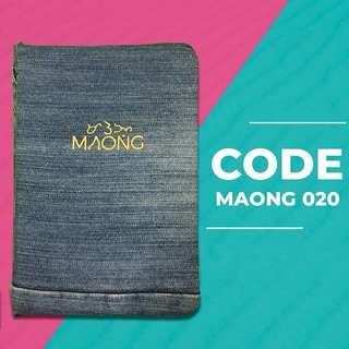Maong notebooks