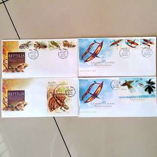 First Day Cover Year 2005