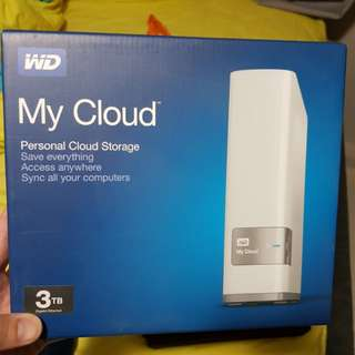 western digital wireless cloud hard disk