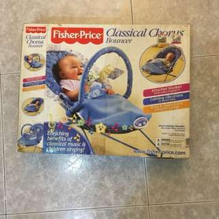 FISHER PRICE CLASSICAL CHORUS BOUNCER