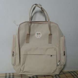 Kanken-like Cream Backpack