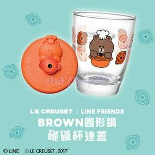7-ELEVEN × LINE FRIENDS × LE CREUSET·「好friend碰碰杯」