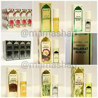 Alcohol-free Perfume (Kazura, Roll On)