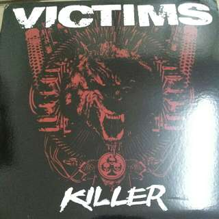 Victims ‎– Killer - Vinyl Record / LP - Swedish Hardcore/Punk - CRI 053