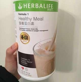 Herbalife 曲奇蛋白粉