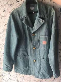 Sugar Cane Denim Work Jacket