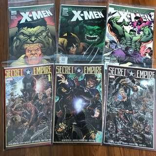 Marvel Comics Secret Empire World War Hulk