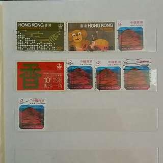 香港郵票 HONG KONG STAMP 全圖共 HKD $5.00