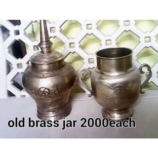 Old Brass Jar