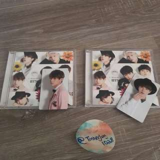 [SELLING]   BTS I NEED U JAPANESE PRESS INCLUDING PHOTOCARD (x2 available)