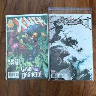 Marvel Comic X-men venom